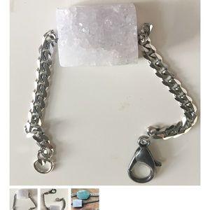 ICED VIOLET DRUZY GEODE Bracelet BOUTIQUE ITEM HRH